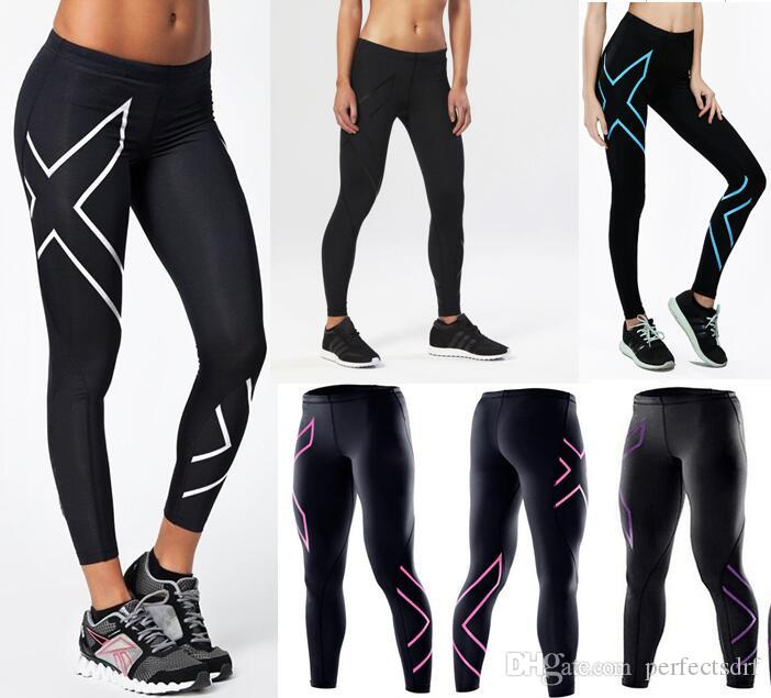 5a2533b123 2019 Womens Skinny Compression Gym Tights Full Length Mid Waist 4 Colours  Activewear Bottoms Pants From Perfectsdrf, $11.6 | DHgate.Com