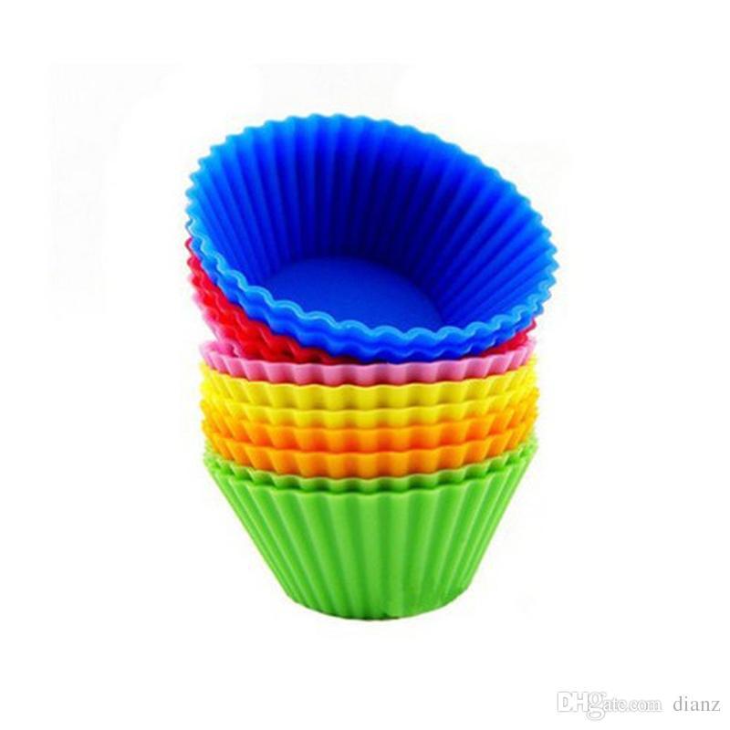 シリコーンマフィンカップケーキカップケーキライナーケーキ型ケース焼却装置メーカーモールドトレイベーキングジャンボ
