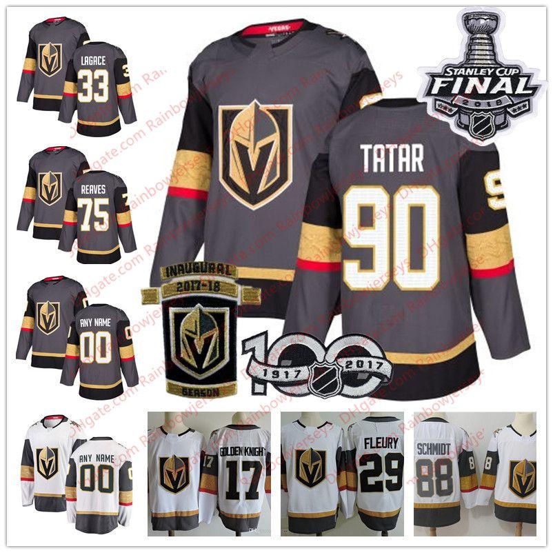 ... Adidas Hockey  half price 3b6eb ed54f 2018 Vegas Golden Knights 90  Tomas Tatar 75 Ryan Reaves 33 Maxime ... 0be8a36cc