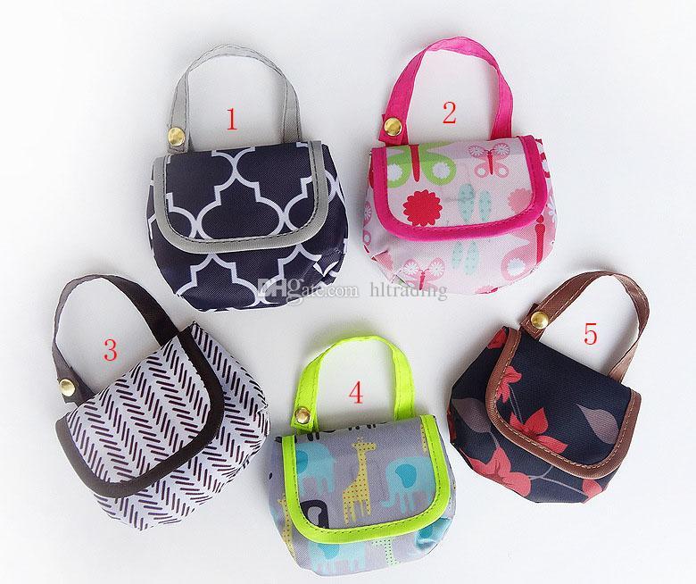 Sacos De Fraldas Do bebê Portátil Nappy Chupeta Chupetas de bolso Saco De Armazenamento De dinheiro imprimir Saco de Fraldas Infantil carrinho de bebê sacos C4408