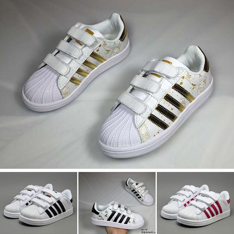 Großhandel Adidas Superstar Dorp Verschiffen 6 Farben
