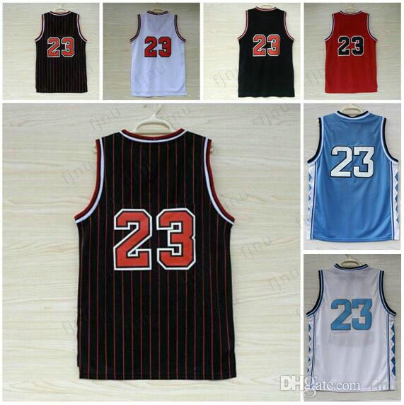 Fast Shipping Wholesale Cheap Retro Classical Red White Black  23 Basketball  Jerseys Embroidery Sportswear Jersey With Player Name Stitched Basketball  ... 82d8bcba1