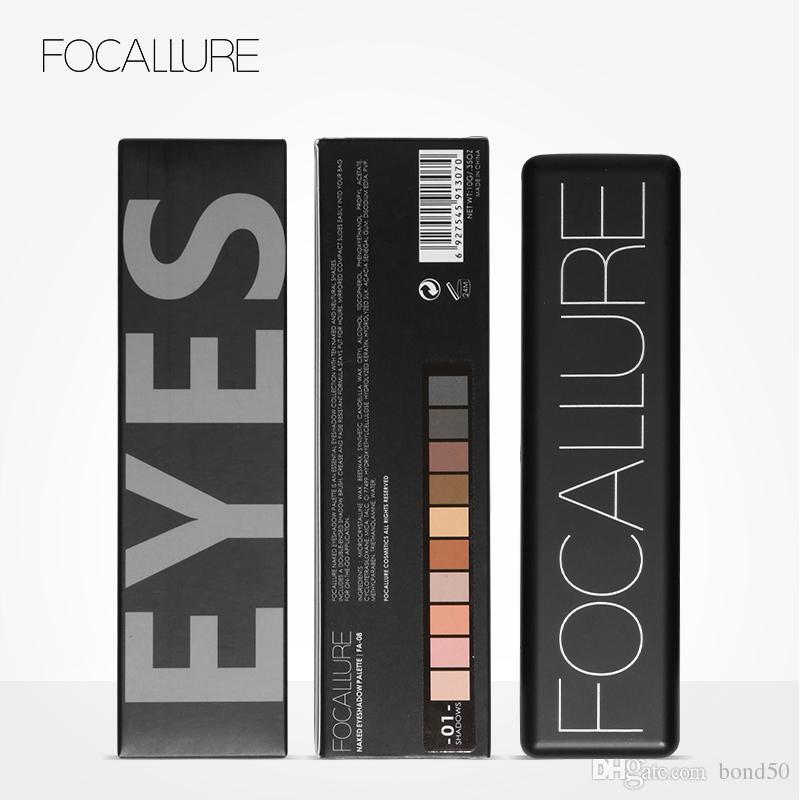 Focallure Brand Makeup Palette Natural Eye Makeup Light Eye Shadow