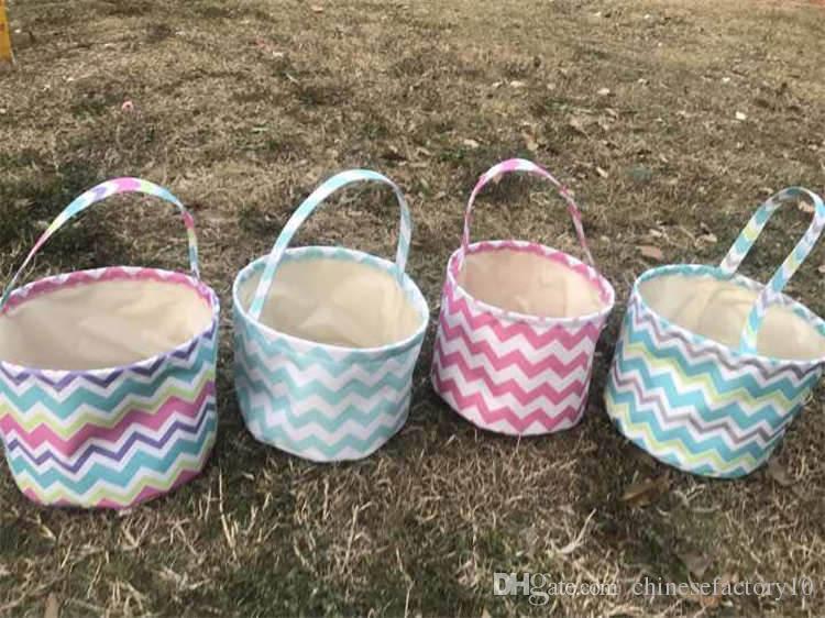 Enfants bricolage paniers de lapin de lapin de tissu de lapin seau sacs de stockage enfants pour l'emballage de cadeau de Pâques