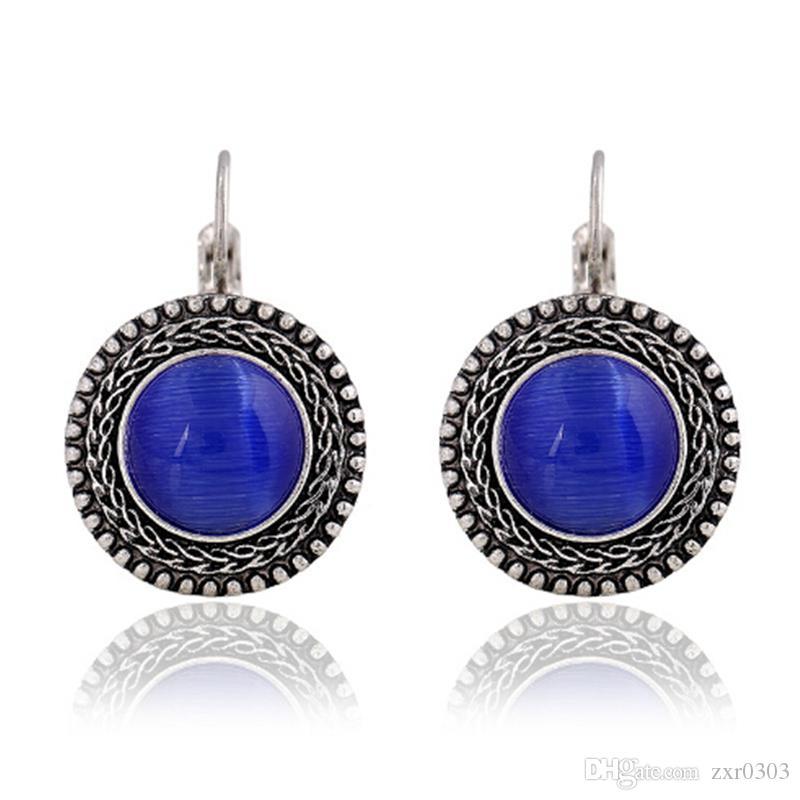 2019 2017 Fashion Boho Big Drop Earrings For Women Jewelry Brinco Carved  Vintage Tibetan Silver Bohemian Long Earrings From Zxr0303 81e0fab84420