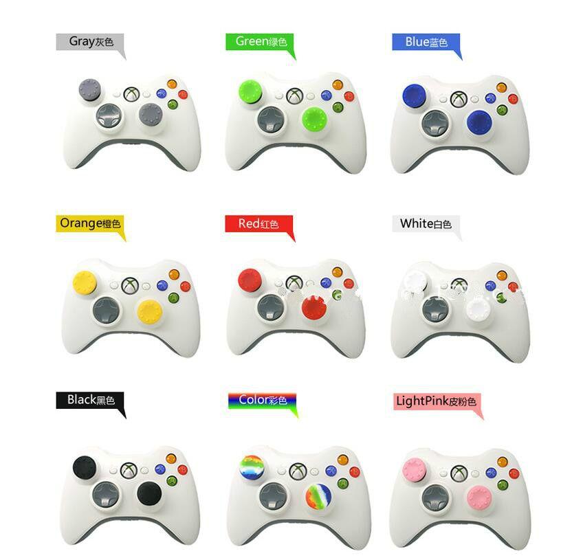 Großhandel Soft Skid-Proof Silikon Thumbsticks Kappe Thumb-Stick-Caps Joystick Abdeckungen Griffe Abdeckung für PS3 / PS4 / XBOX ONE / XBOX 360 Controller