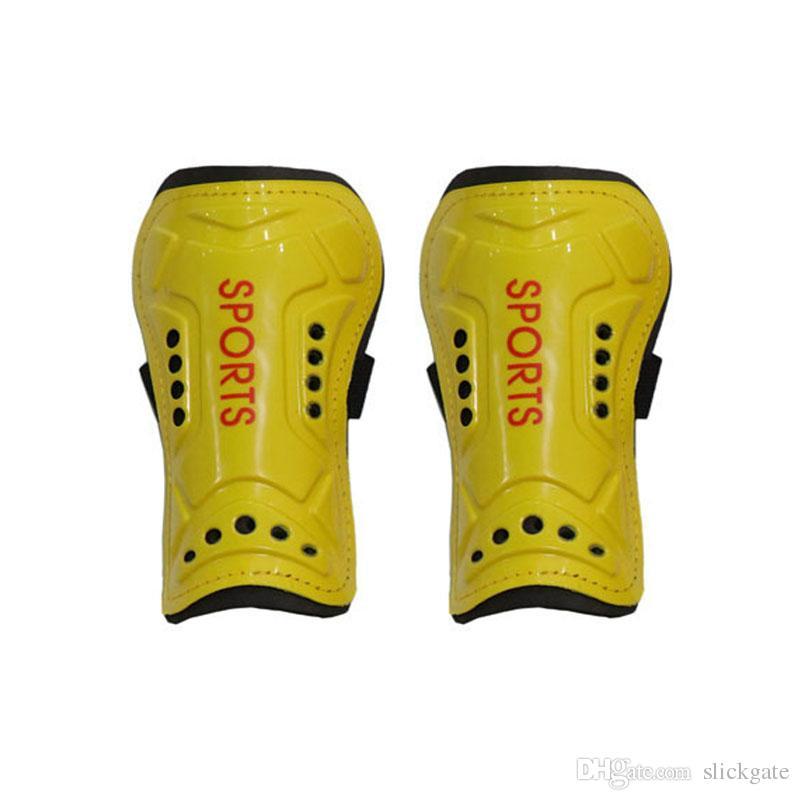5 cores futebol caneleiras futebol caneleiras esportes perna protector Shinguard segurança bandagem para suporte para adultos FBA Drop Shipping G901Q