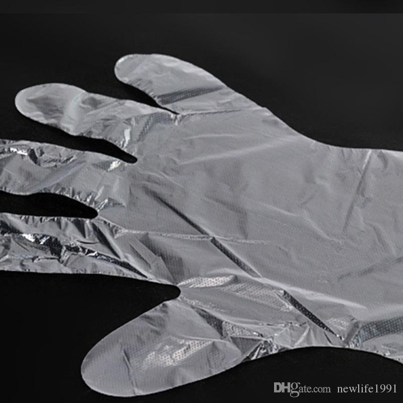 Disposable Gloves Plastic Dishwashing Beauty Eating Glove Cheap Kitchen Tools Household Cleaning Tools Newly Cleaning Gloves