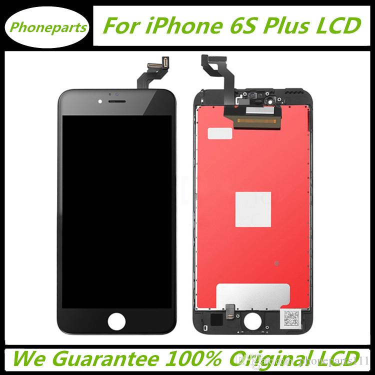 newest 7a48d fd3bc 100% Original LCD For iPhone 6S Plus LCD Screen Panels Display Touch Screen  Digitizer with Frame Full Assembly Replacement with free DHL
