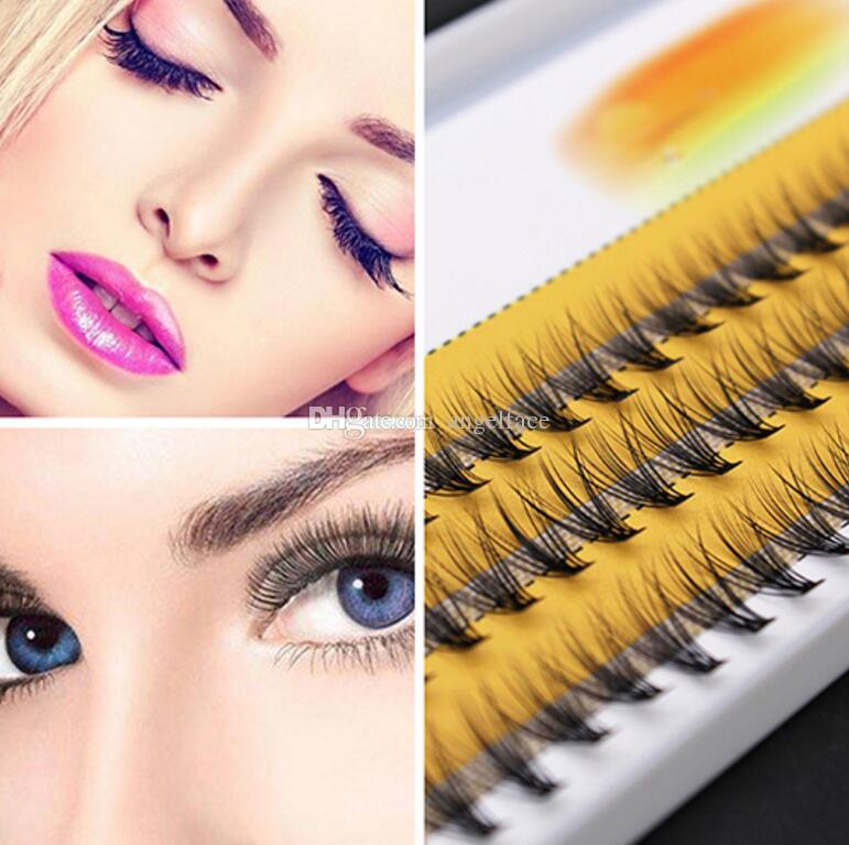 Grafting planting false eyelashes mink hair silk Luxury Eyelashes 0.1 thickness 6-14mm Natural Soft False Eyelash Extension 10D Deluxe Fake