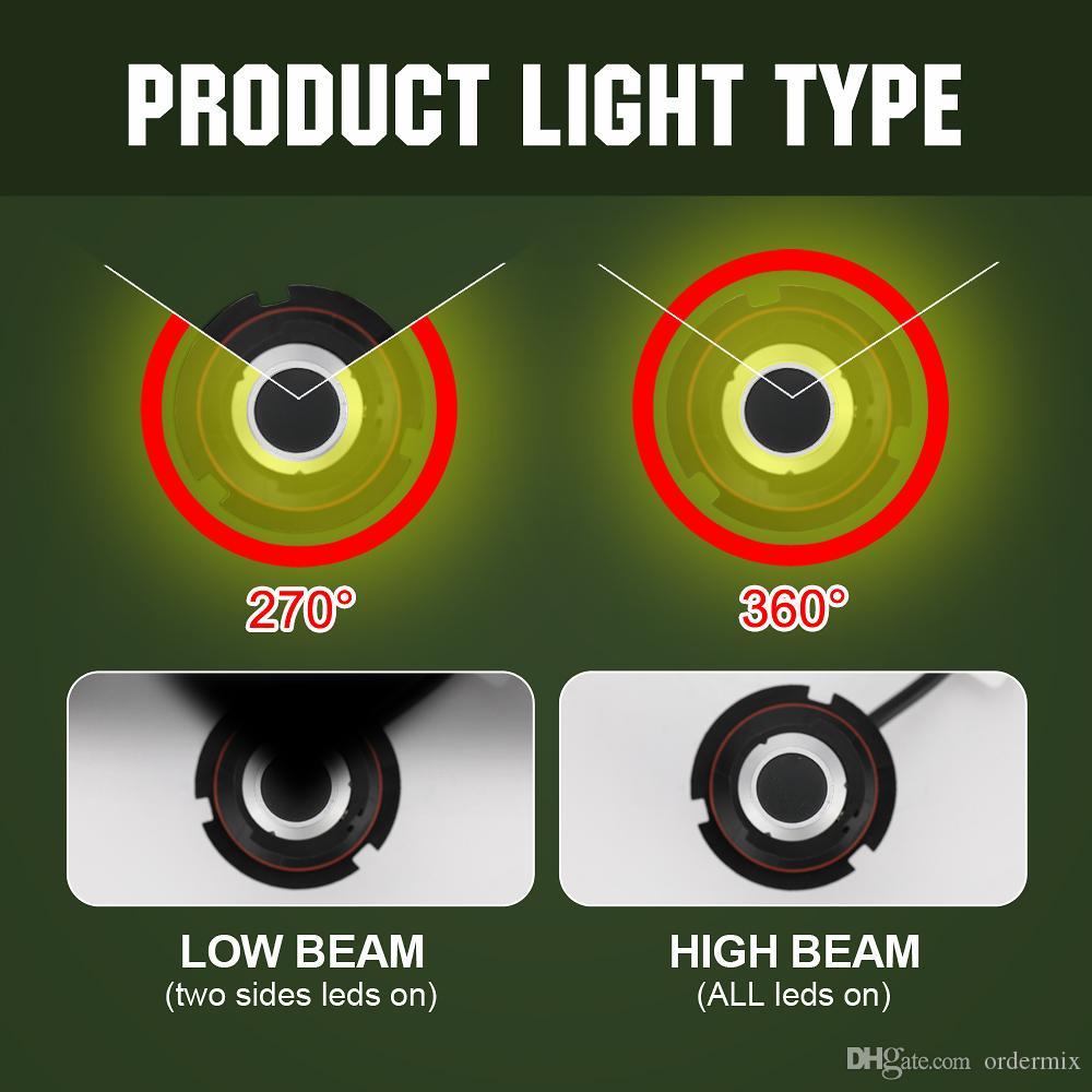 Auto Auto LED Scheinwerfer Lampen Lampen Kit S2-H4 H13 H11 9005 9006 9007 Nebelscheinwerfer 6500K Anti-Staub Single Bright