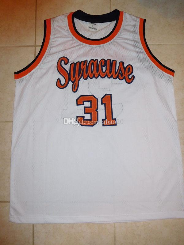 premium selection 017c5 965ee #31 Dwayne Pearl Washington Syracuse Orange College Basketball Jersey  Embroidery Stitched Customize any number and name Jerseys
