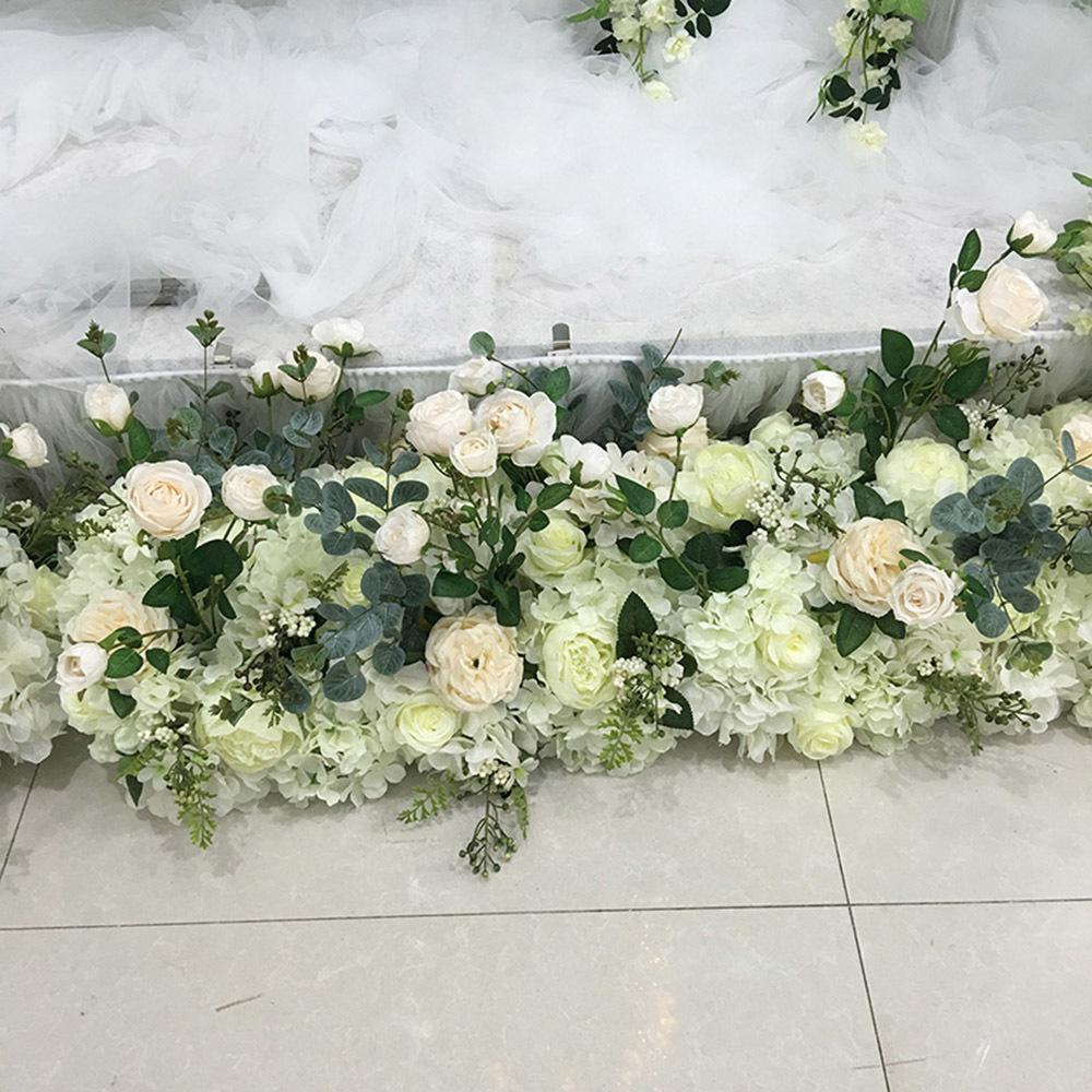 Online cheap wholesale artificial flower table centerpiece wedding online cheap wholesale artificial flower table centerpiece wedding stage arch table runner pivilon backdrop flowers wall decoration by liuliu811 dhgate izmirmasajfo