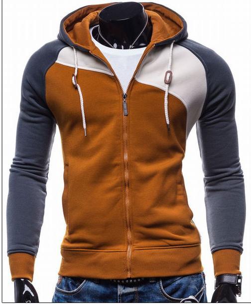 8666be23aa81 2018 Hoodies Men Sudaderas Hombre Hip Hop Mens Brand Leisure Zipper Jacket  Hoodie Sweatshirt Slim Fit Men Hoody XXL