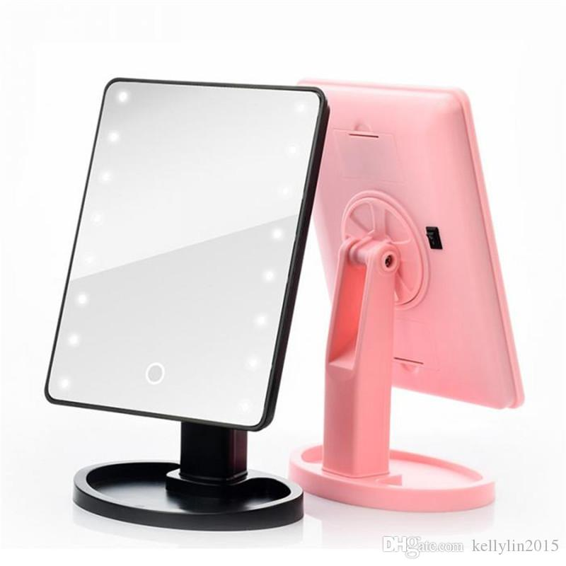 Led Makeup Mirror 16 Lights Lighted Vanity Mirror