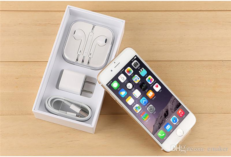 "Original Refurbished iPhone 6 iphone6 plus Dual Core 4.7""5.5''1GB RAM 16GB/64GB ROM 8MP without fingerprint unlocked Smartphone Refurbished"