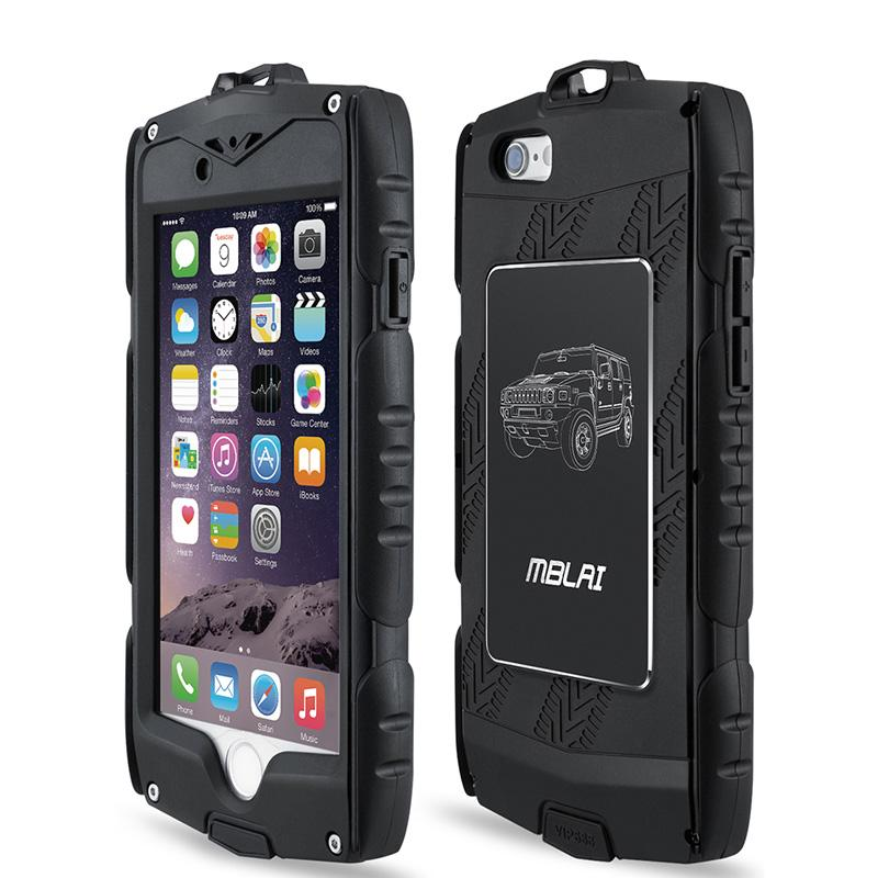 super popular 022a0 47f5e Mblai Heavy Duty Armour Case for Iphone 6 6s Shockproof Cover with Built  -In Screen Protector Full Body Protection Iphone Case