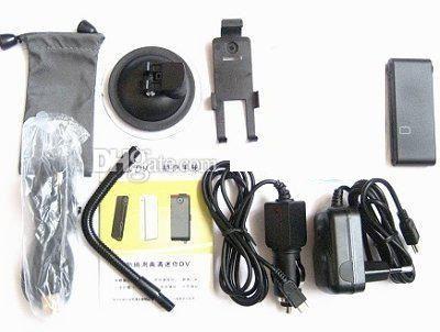 Mini DV91 HD Digital Video Recorder Motion Activated Mini DV DVR camcorder PC Web Camera black/white