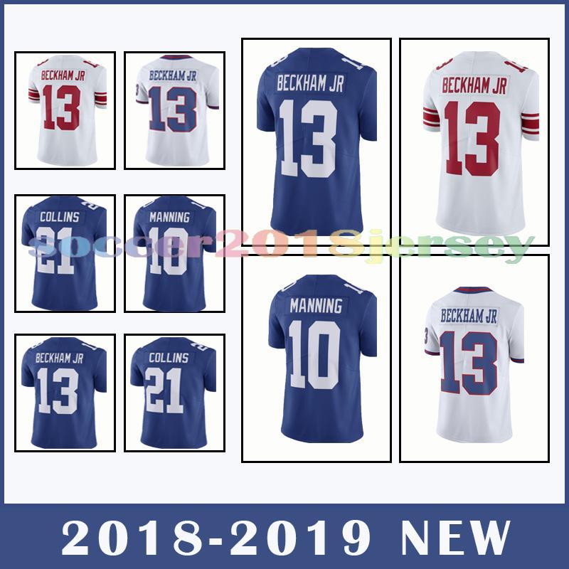 702c0c627 New York Giants Jersey 26 Saquon Barkley 13 Odell Beckham Jr 21 ...