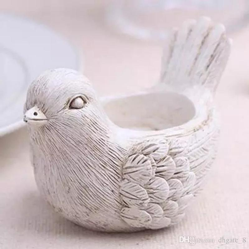 Resin Candle Holder Lucky Elephant Candle Holder Love Bird Candlestick Wedding Favors Party Home Table Decoration Home Decor YFA279