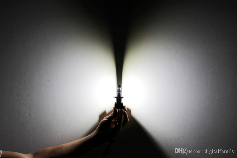 Ampoule de phare de voiture H4 / HB2 / 9003 9004 / HB1 9007 / HB5 H13 LED 12V 50w 8000lm 6000K Auto Led feux de faisceau Hi-Lo pour Toyota // Kia AE