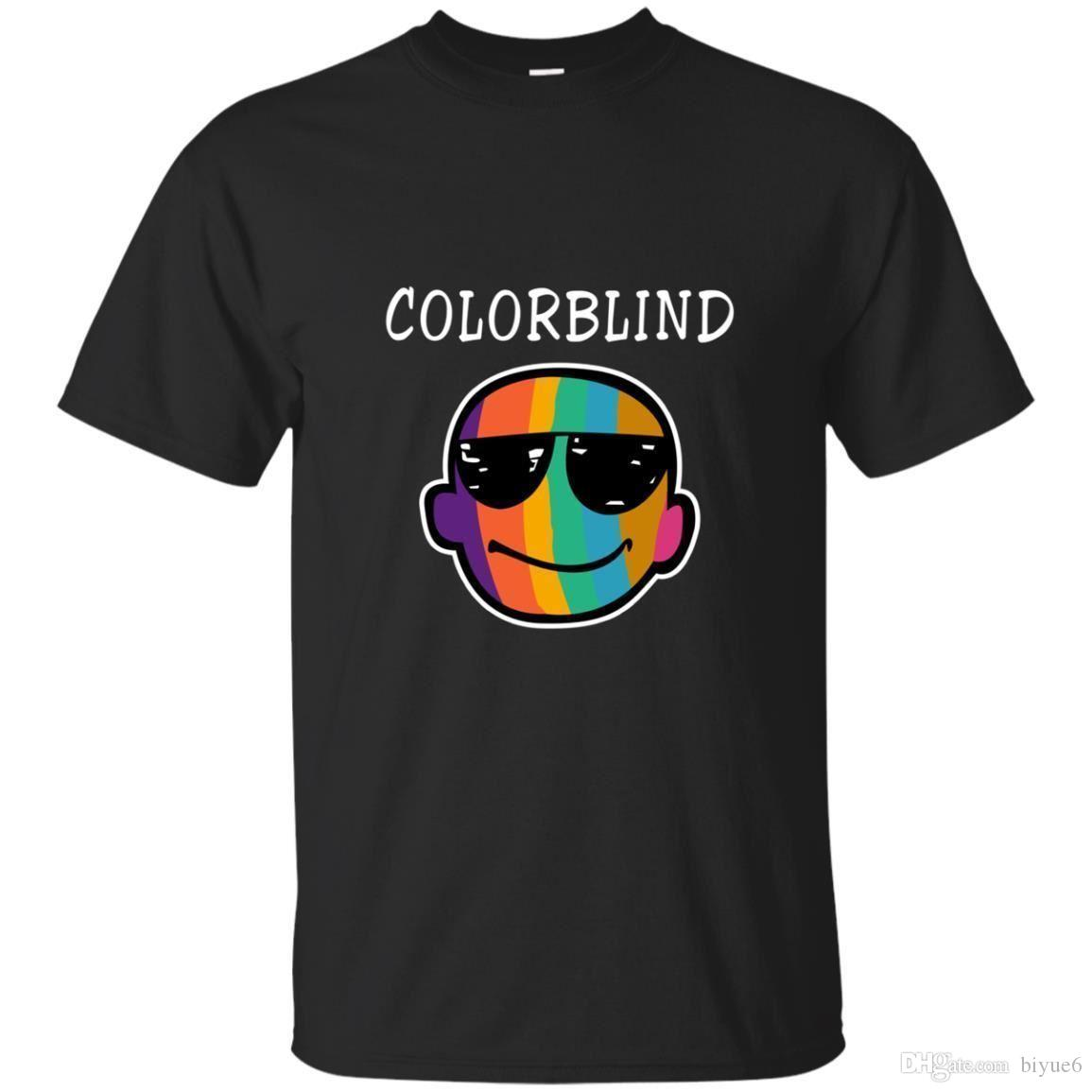 61a86a76 Black, Navy T Shirt For Men Colorblind Graphic Size S 3XL New Fashion Mens  Short Sleeve T Shirt Cotton T Shirts Tshirt Designs T Shirt Design Template  From ...