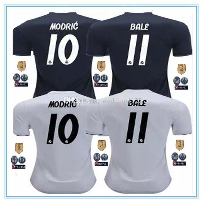 Real Madrid 2019 ASENSIO BALE ISCO Camiseta De Local De Fútbol RAMOS  BENZEMA Camiseta 2018 Camiseta Real Madrid Football Kit Jerseys Por  Wedding1122 e36cf07740028