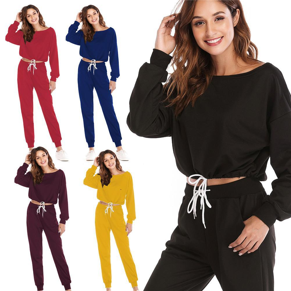 Women S Sportswear Set Yoga Suit Stylish Skin Friendly Fabric Soft Material  Breathable Fitness Outdoor Exercising Running Yoga UK 2019 From Teahong 7532448169