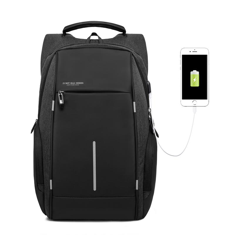 KAKA Brand Fashion Bag Backpack Male Casual Oxford 15 Inch Laptop Backpack  Black Waterproof USB Anti Theft Backpacks Mochila Y1890401 Online with ... 0234888758