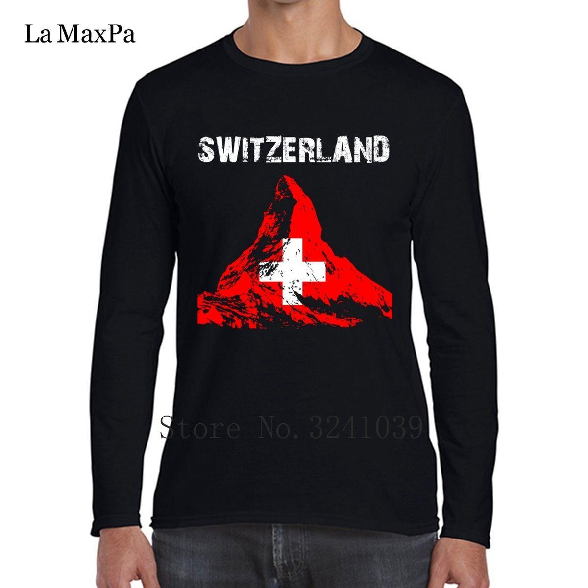 28475b97a1f4 La Maxpa Nation Design Switzerland Matterhorn Fit Men Tee Shirt Sunlight  Men S T Shirt Mens Clothes Round Collar Tshirt Large Great T Shirts Buy T  Shirt ...