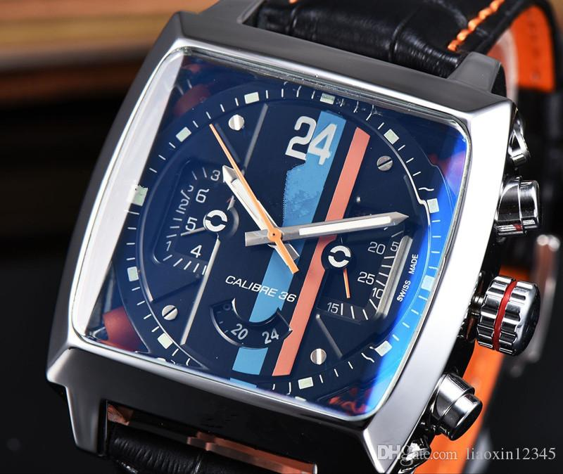 2017, i nuovi orologi saranno l'automatico meccanico di precisione in acciaio, cinturino in acciaio inossidabile meccanico Maserati orologio di lusso il tempo libero