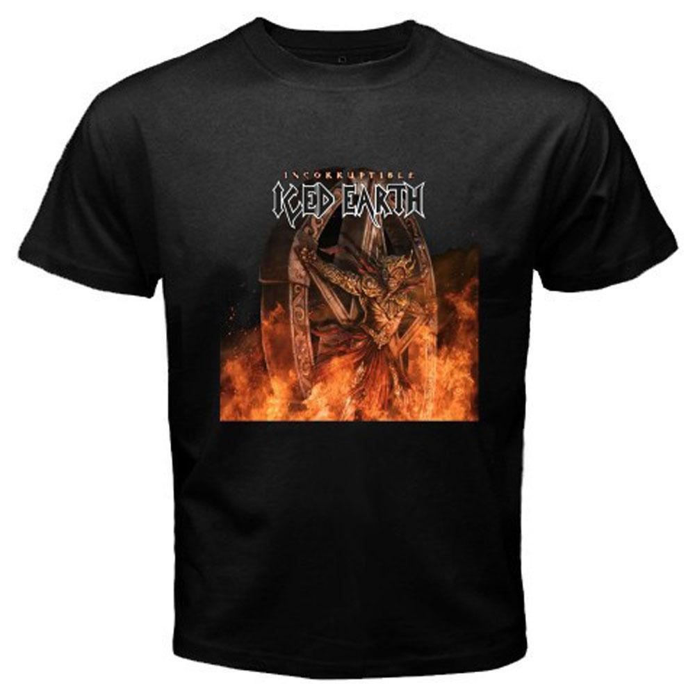 New Iced Earth  Incorruptible Metal Band Album Men S T Shirt Tees Size S  5XL Long Sleeve T Shirts Vintage T Shirts From Caisemao07 ac30fbe2ea