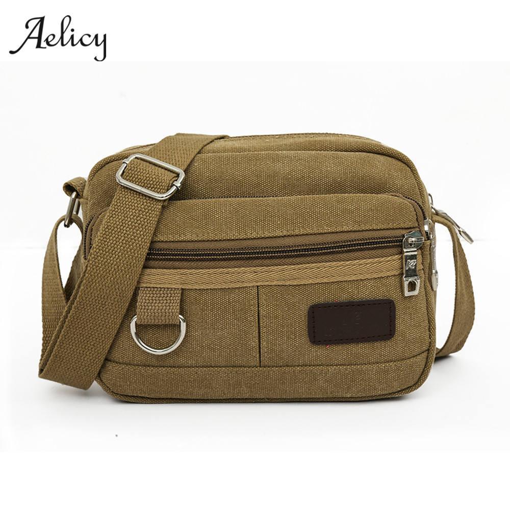df21b88fe2 Aelicy 2017 New Fashion Men S Business Travel Shoulder Bags Cool Canvas Men  Messenger Bags Canvas Briefcase Men Bag Handbag Western Purses Leather  Backpack ...