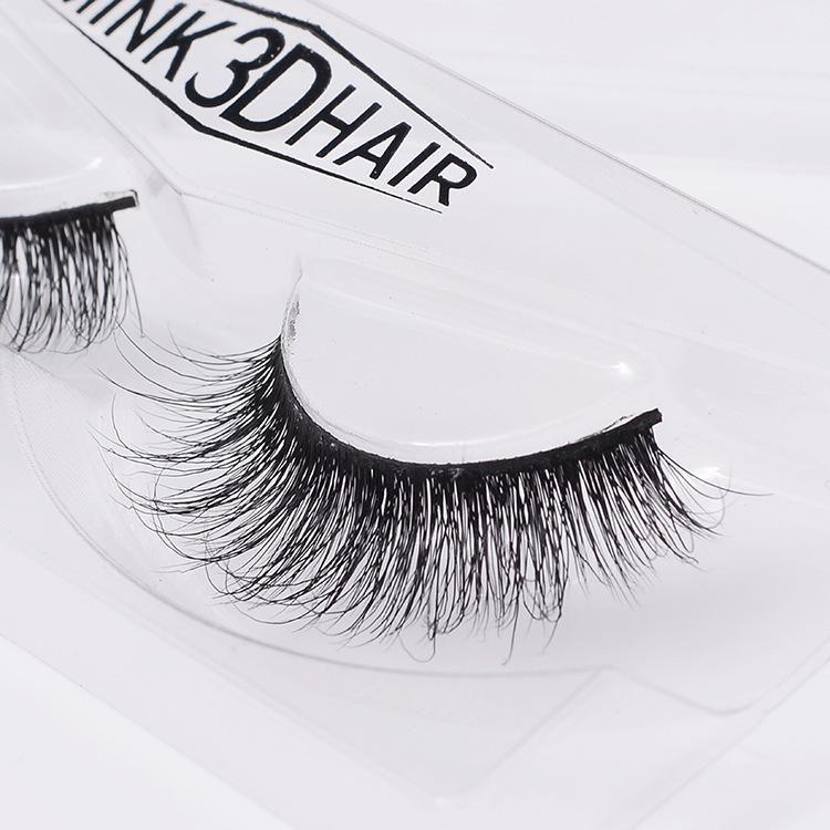 New Reusable False Eyelashes 100 Real Siberian 3d Mink Hair Strip
