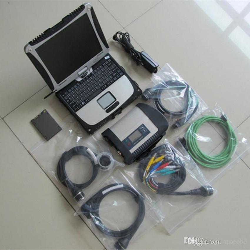 for mb star diagnostic tools sd compact c4 with laptop newest xentry ssd super full set ready to work