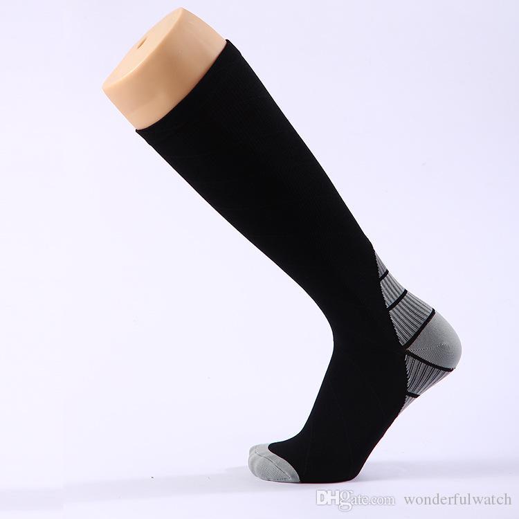 NEUE Männer und frauen Kompressionssocken gradienten Druck Zirkulation Anti-Fatigu Kniehohe Orthopädische Unterstützung Strumpf AP194
