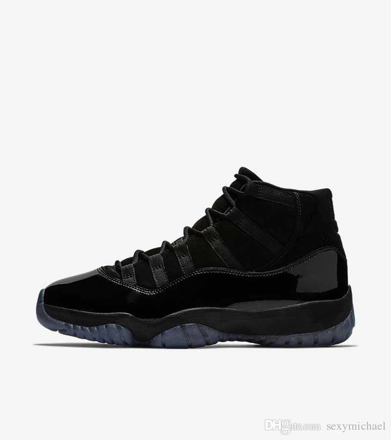 eff10e318cf105 Prom Night 11s Cap And Gown Blackout Mens Basketball Shoes Sneakers  Trainers New 2018 With Box From Michael Sports Sports Shoes Online Jordans  Sneakers From ...
