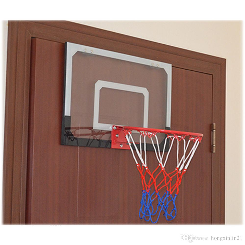 2018 Indoor Mini Basketball Hoop Backboard System Home Office Room Door W/  Ball U0026Pump From Hongxinlin21, $17.25 | Dhgate.Com