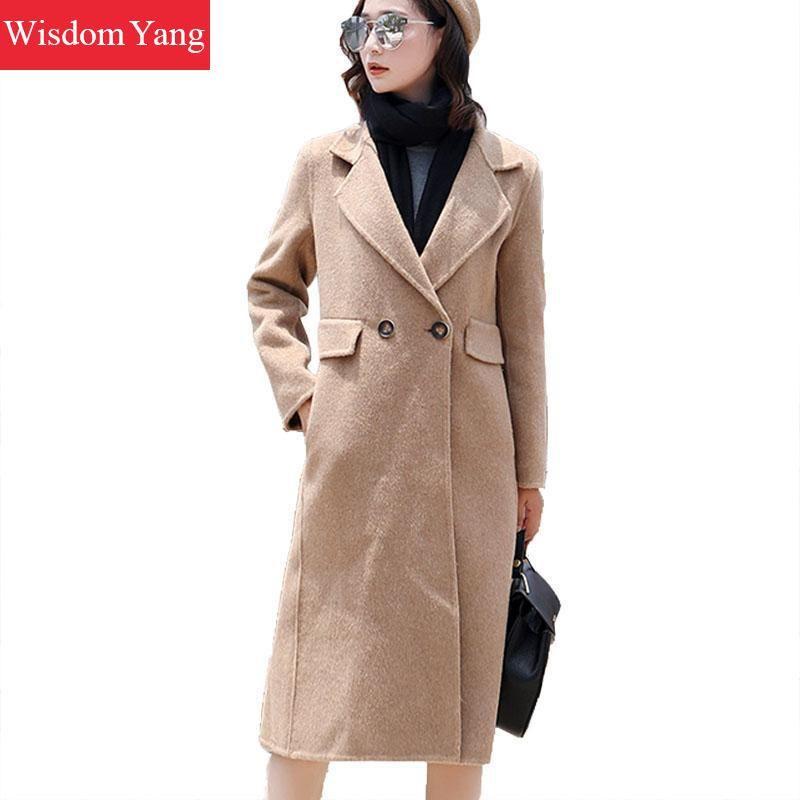 Mantel Warme Mantel Mit Neue Cape Oberbekleidung Mäntel Mode Lammwolle Frauen 2016 Damen Gürtel Langarm Hoodies Winter Mantel Großhandel Mantel 3 OZwkXiPuT