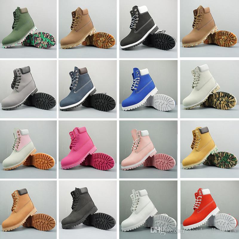 45fe1d45c8 Acquista Timberland Boots 2019 Nuovo ACE Original Brand Stivali Donna Uomo  Designer Sport Rosso Bianco Inverno Sneakers Casual Scarpe Da Ginnastica  Uomo ...