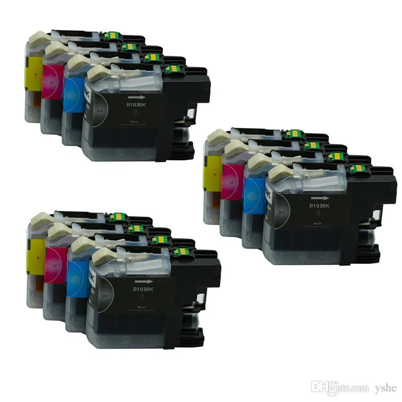 12PK LC103 Ink Cartridge Replacement For Brother Printers MFC-J4710DW  MFC-J6520DW MFC-J470DW MFC-J875DW MFC-J475DW DCP-J152W Printer Inkjet