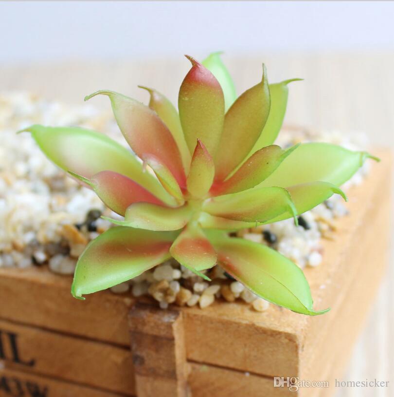 Charme Faux Artificielles Plantes Succulentes Emulational Cactus Plantes pour Bureau Accueil Table Table Jardin Présentée Mini Décoration De Fleur