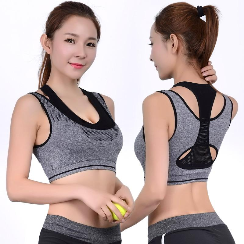Sports Bras Padded Seamless High Impact Fitness Vest Breathable for Women,PK,S,One Size