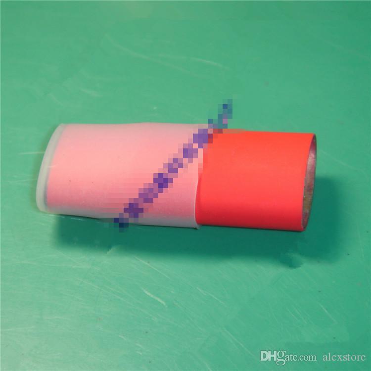 Embout buccal plat en silicone Drip Tip en caoutchouc Conseils de test jetables en silicium Capuchon pour vaporisateur de cire G Pro Vaporisateur d'herbes sèches Elips DHL