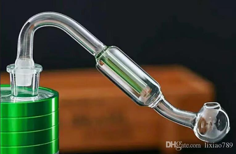 new Double filter glass board Wholesale bongs Oil Burner Pipes Water Pipes Glass Pipe Oil Rigs Smoking,