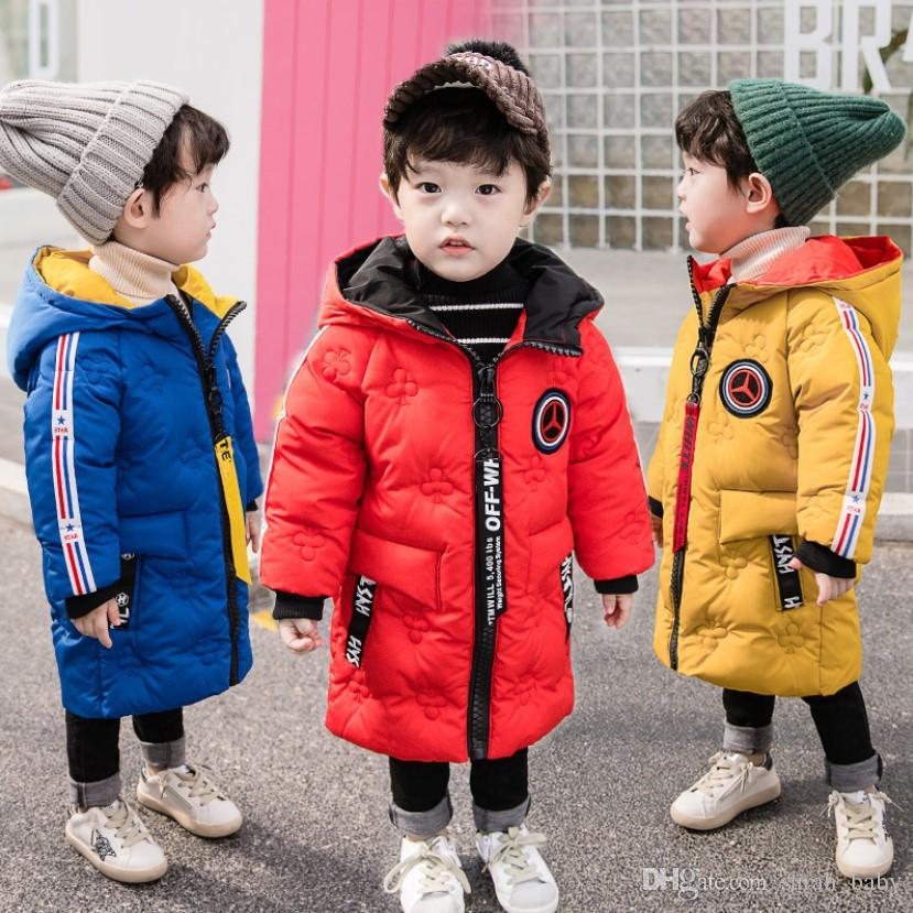 63bb67ed8 Boys And Girls Cotton Coat 2018 New Korean Version Of The Winter ...