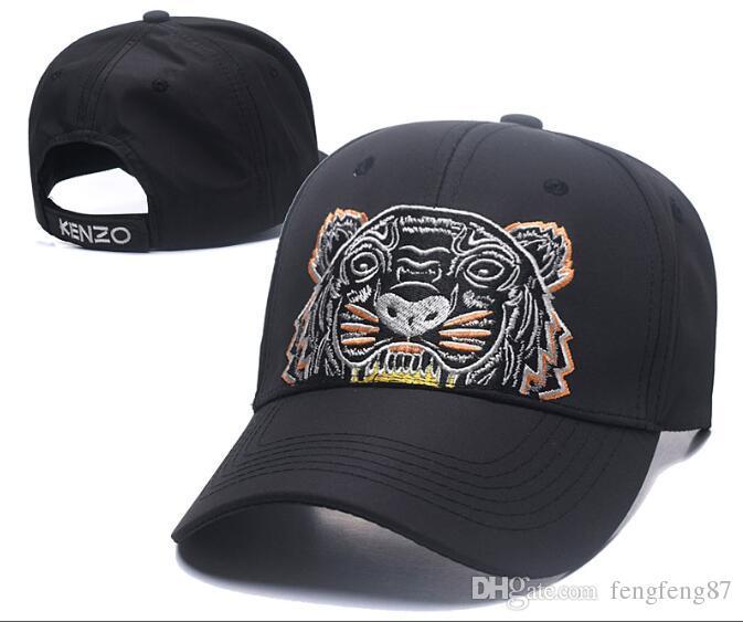 2018 Designer Mens Baseball Caps New Brand Tiger Head Hats Gold ... c37f02bda4f5