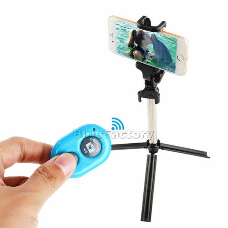 Bluetooth пульт дистанционного управления Selfie Stick 3 в 1 Ручной выдвижная таймер монопод с складной штатив стенд держатель для iphone 8 X Смартфон