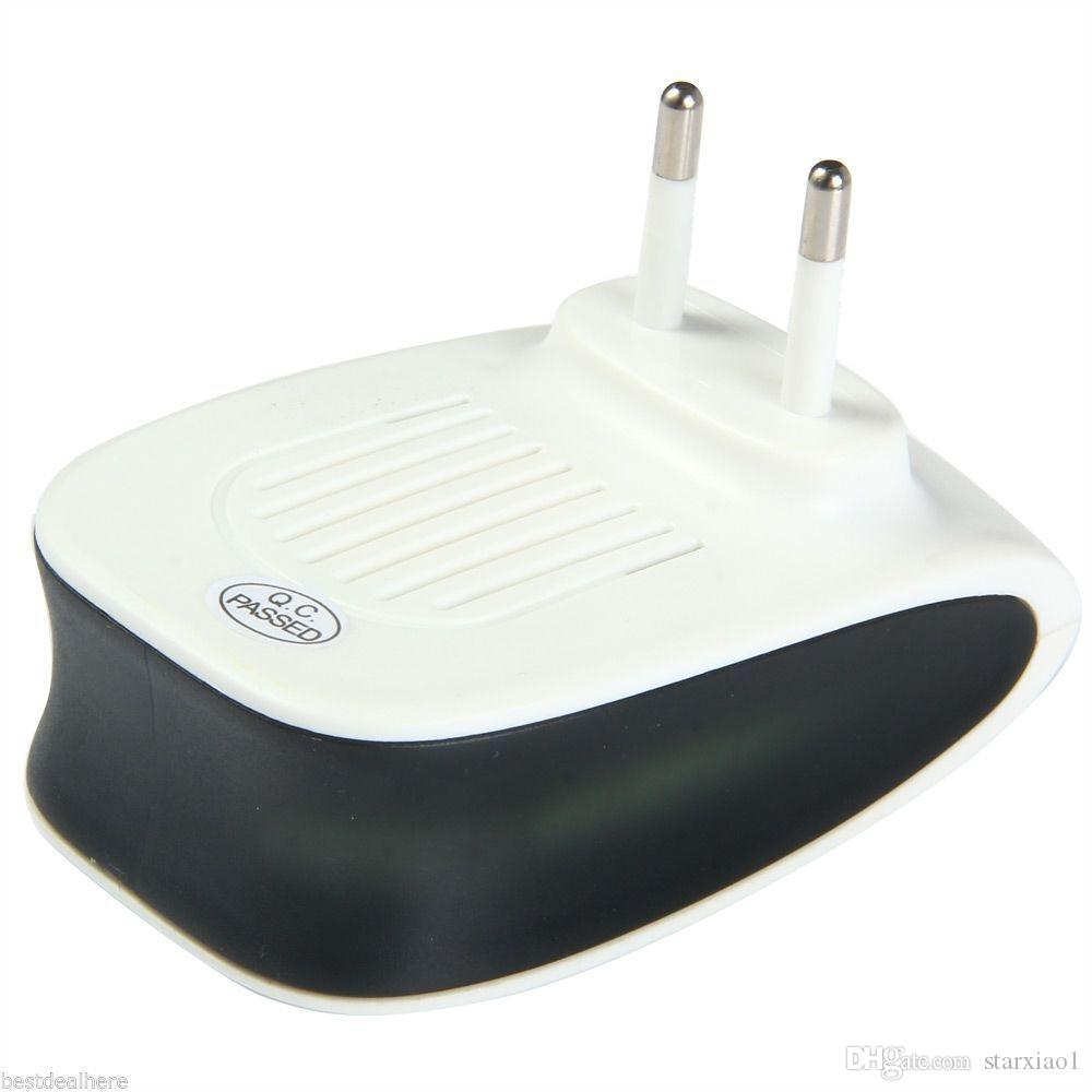 Intelligente elettronico Ultrasuoni parassiti respingere repellente anti zanzara magnetica Repeller Killer US / EU / UK Plug