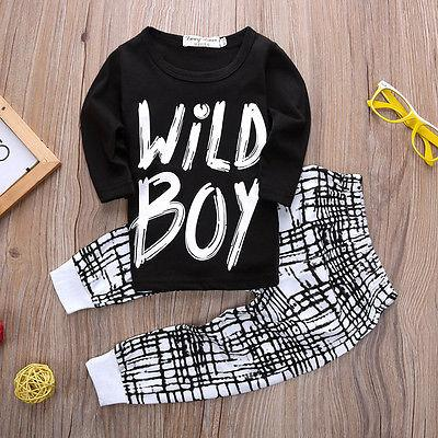 60a4bfde160 2019 Summer Kids Clothes Sets Boy T Shirt+Pants Suit Clothing Set Clothes  Newborn Sport Suits Baby Boy Children Girls From Jeanyme